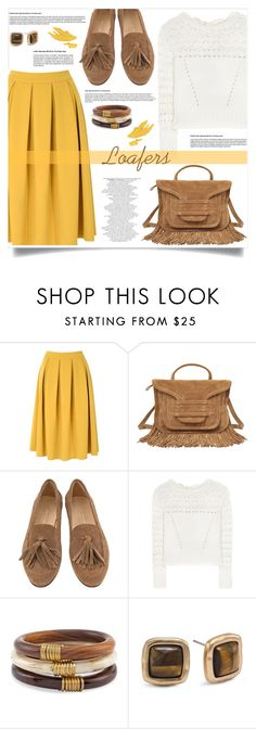 """""""loafers"""" by nata91 ❤ liked on Polyvore featuring Glamorous, Pierre Hardy, Oscar de la Renta and Chico's"""