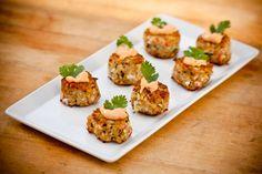 #CrabCakes #Appetizers #TrayPassed #ChefDavid #Catering  #FoodPresentation #cynb #CharterYachtsNewportBeach #NewportBeach #Wedding #BeachWedding #CocktailHour