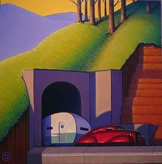 Our Gallery: The Streamlined World of Robert LaDuke | Dieselpunk Encyclopedia