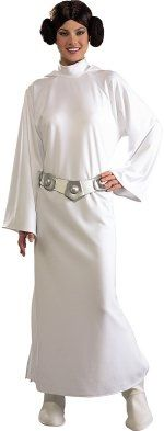 STAR WARS : Costumes and Toys : Star Wars Costume Deluxe Adult - Princess Leia