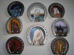 Hufeisen bilderrahmen pinteres - Hufeisen dekorieren ...