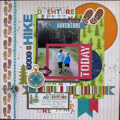 Take a Hike - Scrapbook.com