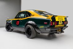 This Mazda is a rotary-chimera of sorts, it's a lightweight 1974 Mazda fitted with a rare triple-rotor Mazda engine producing 400 bhp. Chevrolet Chevelle, Mazda, Ford Mustang, Sport Cars, Race Cars, Cars Characters, Japanese Grand Prix, Bmw S, Mens Gear