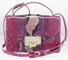 Jimmy Choo Python Cross Body Bag SS2013