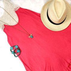 Knit Dress W/ Crochet Back Detail