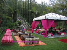 Garden Party Decorations Section 7 - Outdoor Garden Party ...