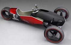 Aprilia Magnet concept reverse trike by Heikki Naulapää