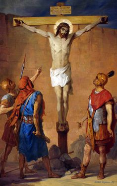 Perforation Of The Ribs Of Jesus Warrior by Nikolay Koshelev - Oil Painting Reproduction Ribs, Jesus Christ Crucified, Catholic Easter, Russian Painting, Biblical Art, Holy Week, Oil Painting Reproductions, Online Painting, Sacred Art
