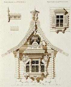 Фасад загородного дома (3) | Деревянная архитектура и деревообработка