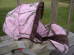 Realtree car seat. To cute! Absolutely want this when I have kids
