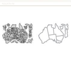 Picture 1 of Australia Stamp & Die Set