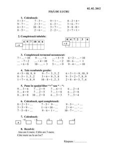 1 million+ Stunning Free Images to Use Anywhere English Worksheets For Kids, Kids Math Worksheets, Math Activities, Homework Sheet, Math Test, 1st Grade Math, Grade 1, Preschool At Home, Homeschool Math