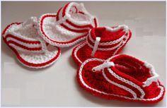 Crochet Baby Sandal Pattern