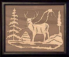 free duck scrollsaw patterns   sld378-scroll-saw-whitetail-deer-pattern.jpg