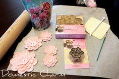 Domestic Charm: Gumpaste Flowers