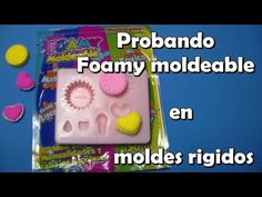 Probando foamy moldeable en moldes rigidos / Pasta ligera (Foamy moldeable) - YouTube