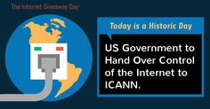 United States set to Hand Over Control of the Internet to ICANN Today
