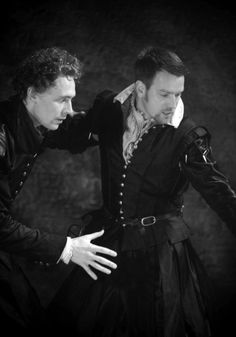 Tom Hiddleston & Ewan McGregor as Cassio and Iago.