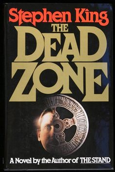 """The Dead Zone by Stephen King. Inscribed """"Stephen King Signed Hardcover Book with Dust Jacket. Small - less than - tear at the top of the spine on the dust jacket. I Love Books, Good Books, Books To Read, My Books, Amazing Books, Music Books, Science Fiction, The Dead Zone, Lying Game"""