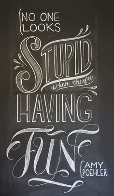 positive-inking:  See more at suzyrichardt.com #chalk lettering #typography