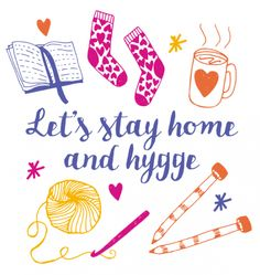 Let's Stay Home And Hygge Printable via @homemakermag #autumnthoughts
