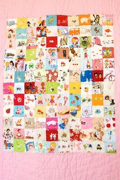 Storytime Baby Quilt - Eye Spy Quilt
