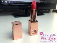 Chic Matte | Les nouveautés lèvres d'Elsa + Concours - Love Beauty Dream