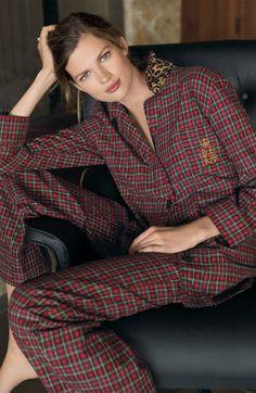 Ralph Lauren Sleepwear Notched Pajamas