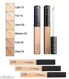 Single Concealer by Maybelline New York Fit me..USA All Skin Types *Authentic*