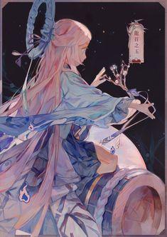 New Concept Art Girl Illustrations Ideas Kawaii Anime, 5 Anime, Inspiration Art, Art Inspo, Art And Illustration, Girl Illustrations, Fantasy Kunst, Fantasy Art, Anime Art Girl