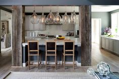 20 Gorgeous Ways to Add Reclaimed Wood to Your Kitchen
