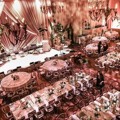 Beautiful shot of this Old Hollywood Theme Oscar Party by Two Fold ...