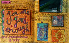 art journal page zoe ford