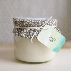 Make your own candles! Great idea for gifts or weekend craft project #DIY