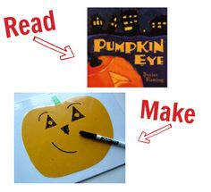 Halloween books and activities to match