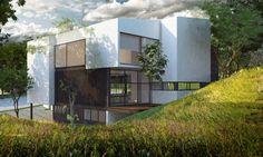 House Paseo de la Frescura.  Designe Arq. Álvaro Morales y Arq. Miguel Echauri.