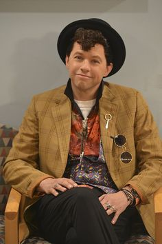 Pin for Later: Jon Cryer Dressed as Pretty in Pink's Duckie For Halloween!  It might even be the original costume! Look how accurate that is!