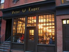 Peter Luger Steakhouse  178 Broadway, Brooklyn, NY 11211  (718) 387-7400
