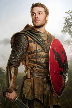 This is Kay from the Camelot TV Series but he is pretty close to how I imagined Arthur when writing Shades of Avalon.
