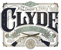 Pearly Yon - Bonnie & Clyde The First Batch Design Logo, Label Design, Lettering Design, Package Design, Brochure Design, Design Design, Vector Design, Creative Design, Bonnie Clyde