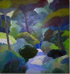 Roger Muhl (D), L'Allée, 2003