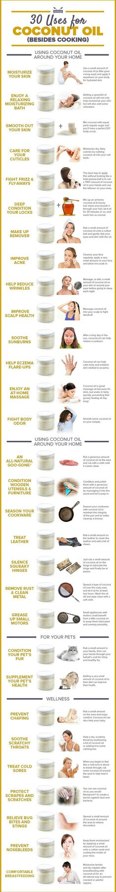 SURPRISING USES OF COCONUT OIL FOR PERSONAL HYGIENE