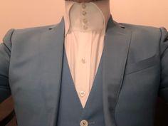 High Collar Shirts, Blazer, Button, Big, Image, Jackets, Women, Fashion, Down Jackets