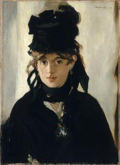 Edouard Manet   Berthe Morisot au bouquet de violettes   Images d'Art
