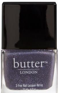 "No More Waity, Katie Nail Lacquer This soft lilac glitter nail lacquer is the perfect marriage of fashion and fun.  Perfect to use in Ombre design with ""Muggins Nail Lacquer"""