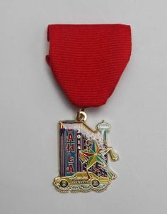 San Antonio Hotel & Lodging Association Fiesta Medal, $10, at the Fiesta Store, the association's offices at 8531 N. New Braunfels, No. 203, and online at sahla.org. The medal comes with discounts and offers from select hotels, restaurants and local attractions, at www.FiestaFunMedal.com. Photo: Juanito M. Garza, San Antonio Express-News / San Antonio Express-News