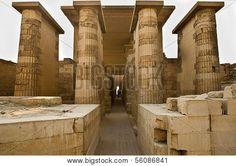 Saqqara entrada al templo