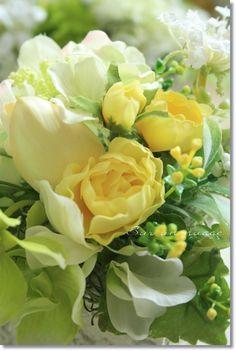 【楽天市場】フラワーアレンジ【sn63】花器付き フレッシュカラー Sur un nuage/造花 アートフラワー アーティフィシャルフラワー アンティーク お祝い:ナチュラル雑貨と造花の店チアフル