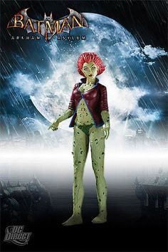 Batman Arkham Asylum Series 2 Action Figure Poison Ivy 17 cm