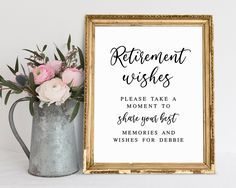 Gold Bucket List and Share a Memory Cards 48 cnt Retirement Wishes